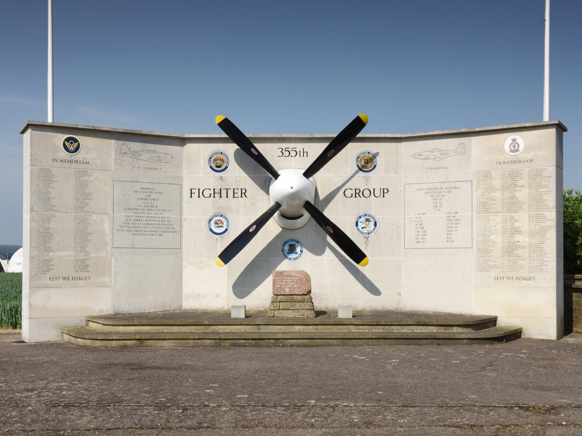 Steeple Morden Airfield memorial