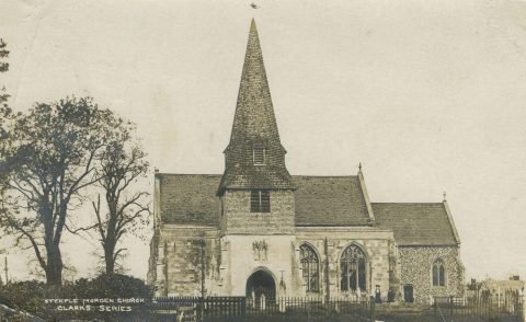 Photo of Church from 1904