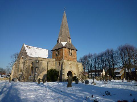 Photo of Church in winter