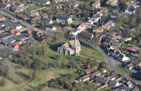 Photo of Church from the air
