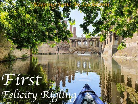 Felicity Rigling - Keeping Sane - Bridge of Sighs by Kayak