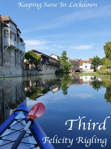 Felicity Rigling - Keeping Sane - Millpond in Cambridge by kayak