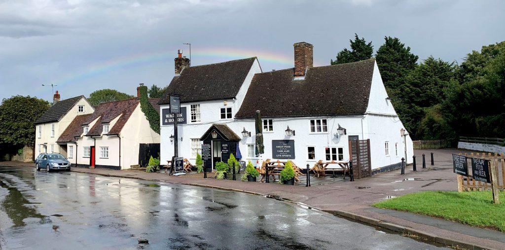 The village pub